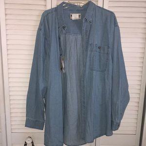 NEW Wrangler Oversized Denim Shirt Jacket
